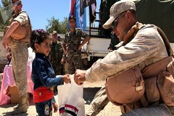 أول دفعة من المساعدات الإنسانية الروسية تصل مدينة الرستن بريف حمص