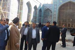 وزیر اطلاعات از مجموعه جهانی بقعه شیخصفی اردبیل بازدید کرد