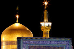 Irish man converts to Islam in Imam Reza Holy Shrine