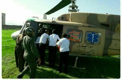 بالگرد اورژانس هوایی کرمانشاه