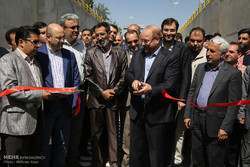 افتتاح زیرگذر و تونل شهید ضربعلی زاده