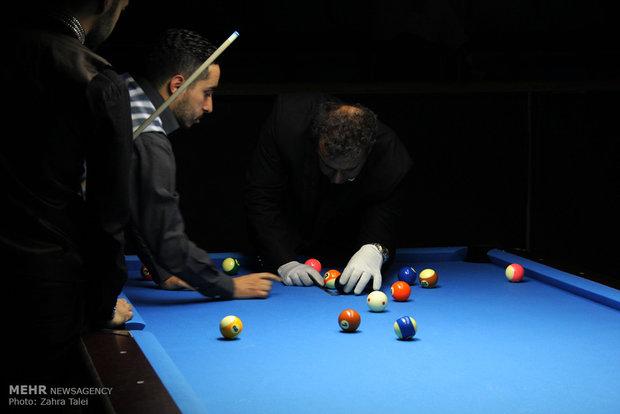Urmiya'da bilardo yarışması