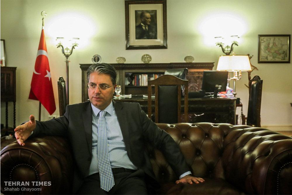 Neighbors should prioritize unifying topics: Turkish envoy