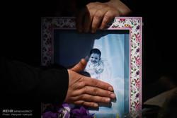 تشییع و خاکسپاری بنیتا هشت ماهه
