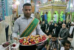 حضور خادمان امام رضا (ع) در امامزاده سید مظفر