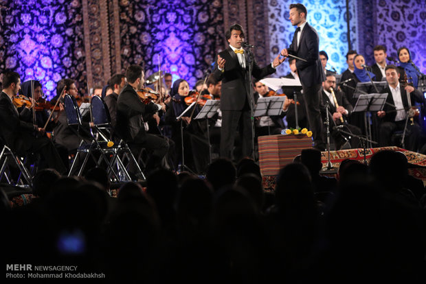 Iran-Italy joint music performance in Tehan