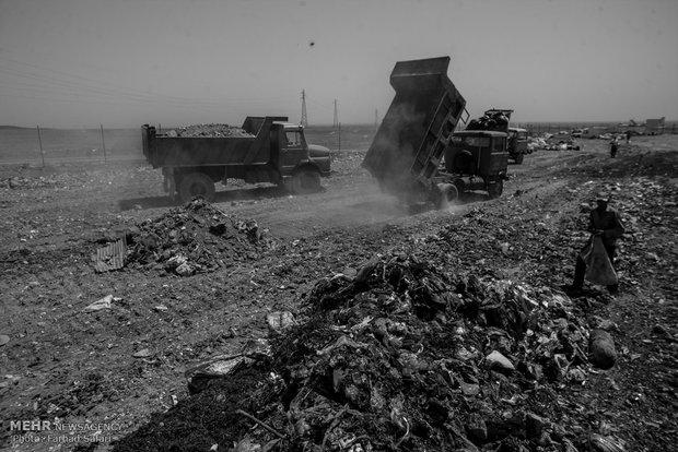بر فراز زباله