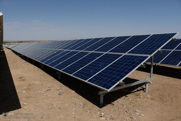 Mideast's Largest Solar Farm in Iran's Kerman province