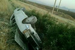 واژگونی یک خودرو در بومهن ۵ مصدوم بر جای گذاشت