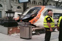 ۴۸ زخمی بر اثر حادثه تصادف قطار در اسپانیا