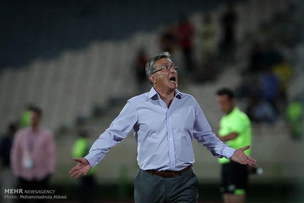 دیدار تیم های پرسپولیس تهران و فولاد خوزستان