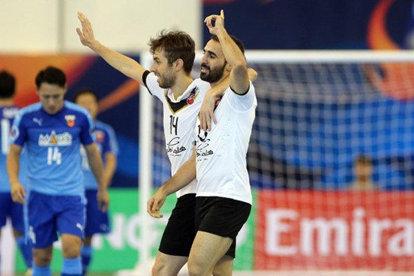 فريق غيتي بسند يتأهل إلى النهائي بفوزه على الريان القطري