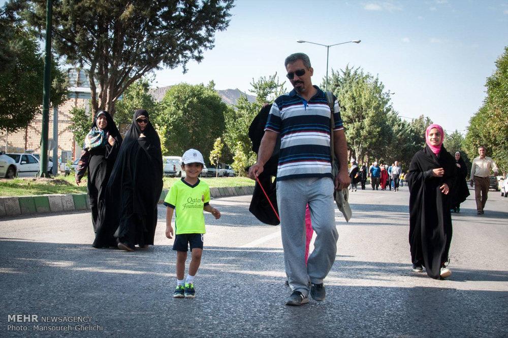 همایش پیاده روی خانوادگی در بسطام