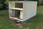 خانه قابل جابجایی با پنل های خورشیدی