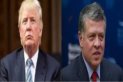 ترامپ و شاه اردن