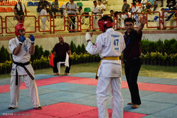 Karatekas of 6 nations competing in Sanandaj