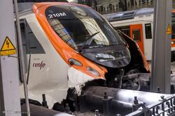 تصادف قطار در اسپانیا