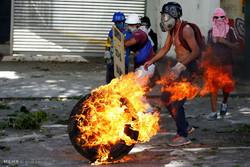 اعتصاب و درگیری در ونزوئلا
