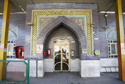 A view of the time-honored gas station number 234 in downtown Tehran