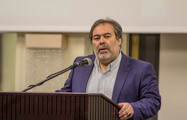 مجید ملانوروزی مدیرکل هنرهای تجسمی وزرات فرهنگ و ارشاد اسلامی