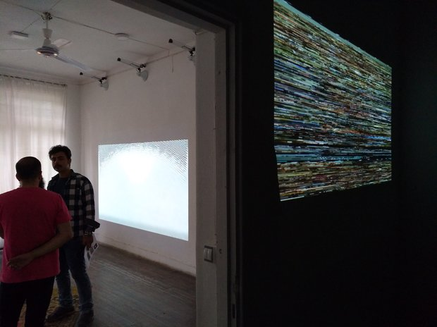 نمایشگاه رسانه های دیجیتال هنرمند سوئدی در شیراز