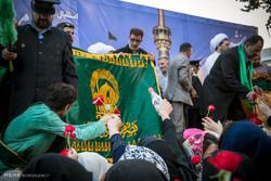 کاروان زیر سایه خورشید وارد شهر زنجان شد