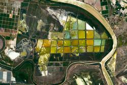 تصاویر ماهواره ای از زمین در ماه ژوئن
