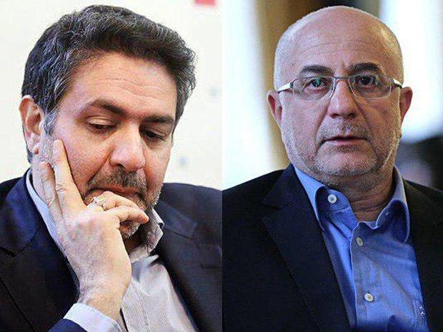 علی مرادخانی و فرزاد طالبی