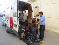 SUV for wheelchair users