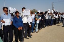 تجمع علیه کلنگ زنی پتروشیمی - کراپشده