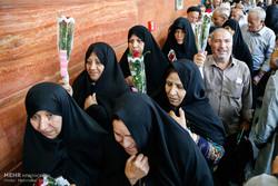 ایرانی حجاج کا پہلا قافلہ مدینہ منورہ پہنچ گیا
