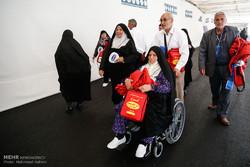 اولین گروه زائران بیت الله الحرام بدرقه شدند