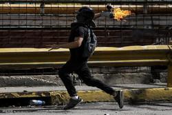 تظاهرات ضد دولتی همزمان با همه پرسی در ونزوئلا