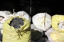 کشف و ضبط ۱۳ تن چوب جنگلی و زغال در شهرستان ملایر