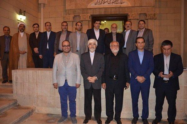 İran medya kuruluşları temsilcileri Irak'ta