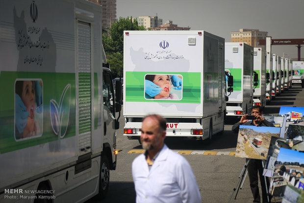 إيفاد 80 عيادة أسنان نقالة إلى المناطق النائية ايران