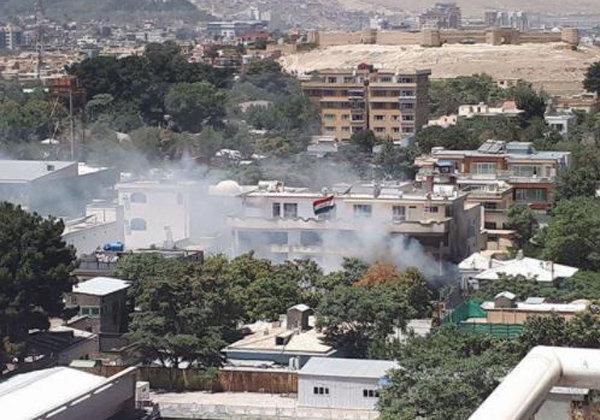 الخارجية العراقية تؤكد انتهاء الهجوم على السفارة بكابول