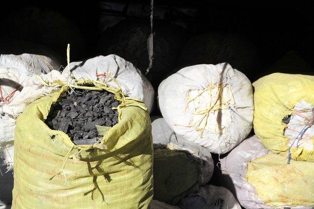 متصدی کارگاه غیرمجاز و آلاینده تولید ذغال به مراجع قضاییمعرفی شد