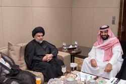 مقتدی صدر و محمد بن سلمان