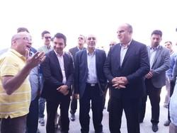 بازدید استاندار کرمانشاه از پروژه نیمه تمام راه آهن