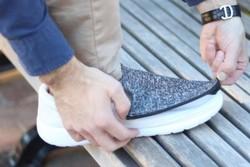 کفش ماژولی با رویه قابل شستشو ساخته شد