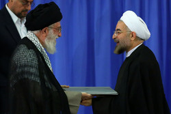 Rouhani to receive his presidential precept