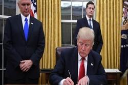 ترامپ گەمارۆوەکانی سەر ئێران، ڕووسیا و کۆریای باکووری واژۆ کرد