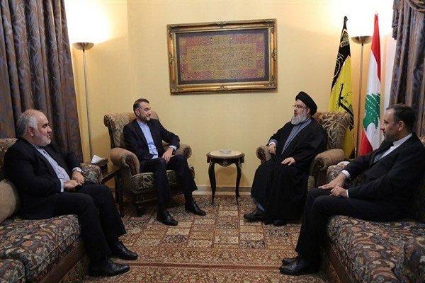 نصرالله يؤكد على الدور الهام لقائد الثورة في التصدي للمخططات التي تستهدف العالم الاسلامي