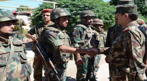 Syrian army taken initiative in war against terrorism