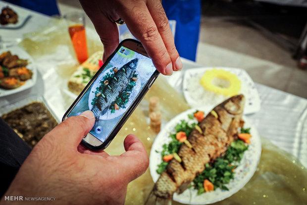 1st seafood festival in Anzali
