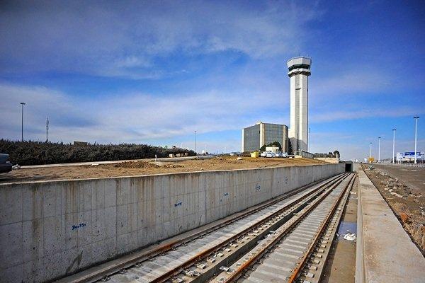 قطار فائق السرعة بين طهران و اصفهان يمر من تحت مطار الإمام الخميني الدولي
