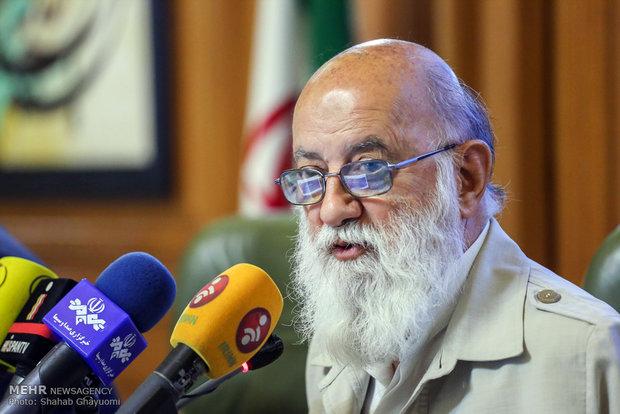 آخرین نشست خبری مهدی چمران رئیس شورای  شهر چهارم