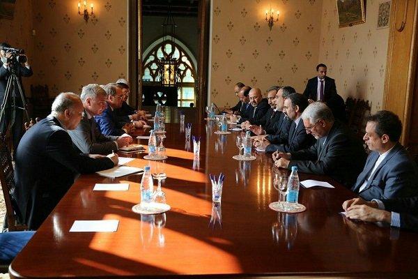 اجتماع  إيراني - عراقي-روسي في موسكو يبحث التنسيق المشترك لخفض التوتر بالمنطقة