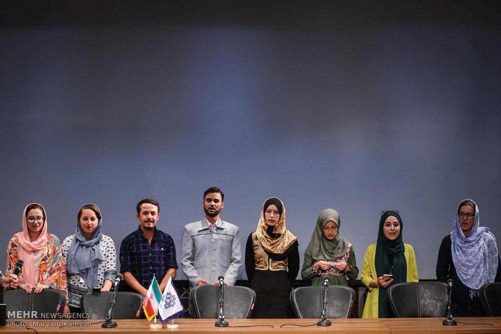 اختتامیه دوره دانش افزایی زبان فارسی